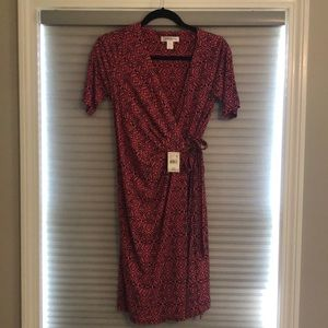 Motherhood Maternity Wrap Dress Size S